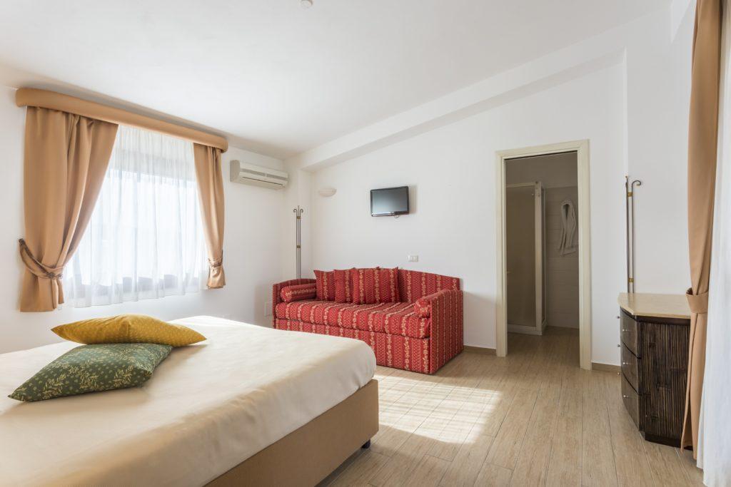 Camera sulla spiaggia di san vito lo capo - Hotel Solarium