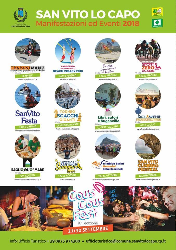 Eventi 2018 a San Vito LO Capo - Hotel Solarium
