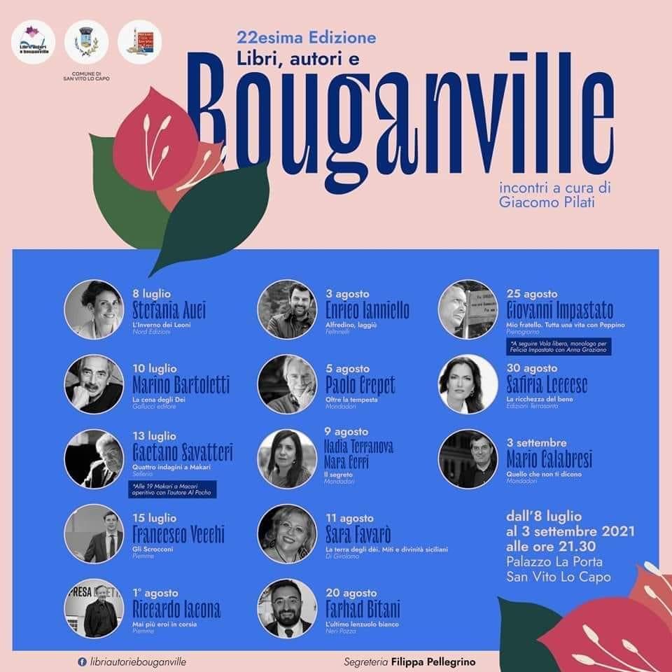 libri autori e bouganville - hotel solarium san vito lo capo